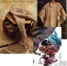 Spin-off magazine winter 2004:cabled sock yarn, wraps