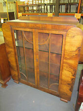 Antique Art Deco  Display Cabinet