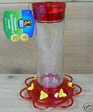 More Birds Diamond Glass Hummingbird Feeder 30oz 7 Feeding Ports Classic37