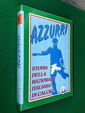 2 VHS - STORIA DELLA NAZIONALE ITALIANA CALCIO , AZZURRI 1 (Grande Torino)