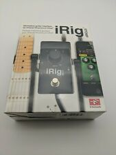 IK Multimedia iRig STOMP guitar interface pedal for iphone, ipod touch, ipad