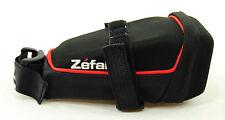 Zefal Iron Pack DS Med Hard Shell Wide Opening Seat Saddle Bag Medium Black Bike