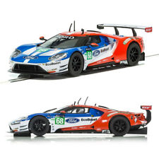 SCALEXTRIC Slot Car C3857 Un Boxed Le Mans 2017 Ford GT GTE No. 68