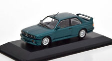 1:43 Minichamps BMW M3 E30 1987 darkgreen-metallic
