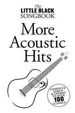 The Little Black Songbook: More Acoustic Hits, Music Sales, Good Used  Book