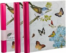 Deluxe 3 Self Adhesive Large Photo Albums Totaling 108 Pages 216/Sides AL-BB72P3