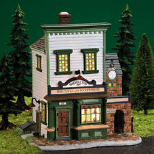 "Dept 56 New England Village ""Wm Walton Fine Clocks & Pocket Pieces"" #56628 Nib"
