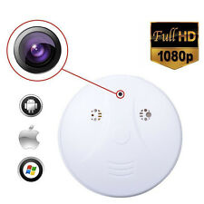 Wireless HD 1080P Spy Smoke Detector Hidden Camera Motion Detect DVR Camera WP