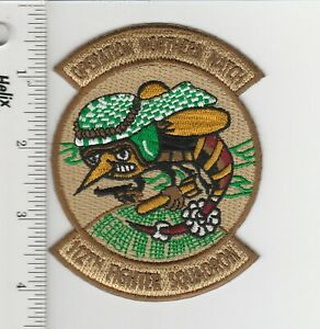 US Air Force Desert Patch 112 Fighter Squadron Operation Northern Watch