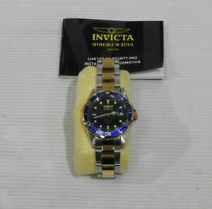 Invicta Men's 8935 Pro Diver Collection Blue Dial Two-Tone Stainless Steel Watch