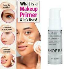 Phoera Face Primer Base Natural All Matte Foundation Pores Oil-control Invisible