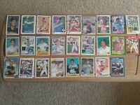 Detroit Tigers 80s/90s Stars(Whitaker,Trammell, Parrish) Baseball cards(300+)