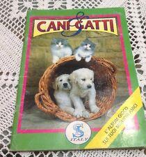 SL ITALY ALBUM FIGURINE CANI & GATTI INCOMPLETO MENO 83 FIGURINE OTTIMO