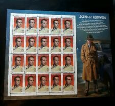 US Scott #3152 Humphrey Bogart Legends of Hollywood Sheet of 20 MNH OG