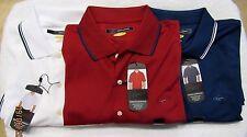 Greg Norman PlayDry Performance Polo Red,  Men's Sz XL NWT