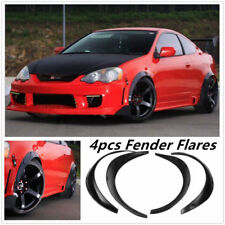 4pcs Universal Flexible Extra Wide Arches Car Body Wheel Fender Flares