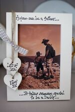 Personalised Photo Frame! Mother's Day, Father's Day Gift!