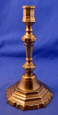 Antique 18th century French Louis XIV Brass Candlestick