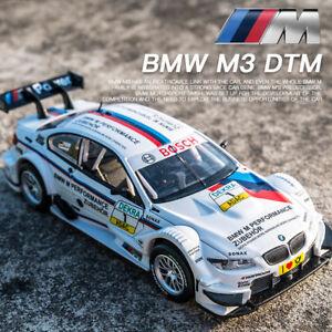 BMW M3 DTM 1:32 Metal Diecast Model Car Toys Collection Sound&Light Pullback