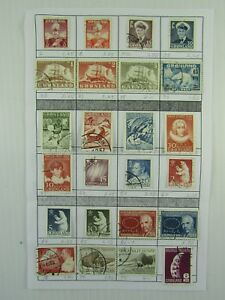 24 ass't Greenland SC #2//102 Polar Bear Ships Niels Atomteori   Used stamps