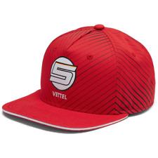Scuderia Ferrari Formula 1 Authentic Sebastian Vettel Flatbrim Hat