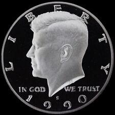 1990 S Kennedy Half Dollar Gem Deep Cameo Clad PROOF US Mint Coin