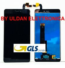 TOUCH SCREEN VETRO LCD DISPLAY ASSEMBLATI Per XIAOMI REDMI NOTE 4 4X Global Nero