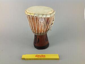 Kleine Djembe Trommel Handarbeit Afrika 29 cm Percussion