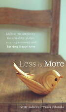 Less is More, Acceptable, Andrews, Urbanska, Book