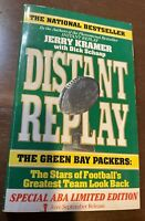 Signed Special Limited Ed. Distant Replay Jerry Kramer Dick Schaap Packers COA