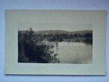 MONFALCONE barca vela Gorizia vecchia cartolina fotografica 2 INEDITA