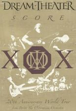 DREAM THEATER ' SCORE: 20TH ANNIVERSARY...' 2 DVD NEW+