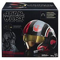Star Wars The Black Series Poe Dameron Electronic X-Wing Pilot Helmet Brand New