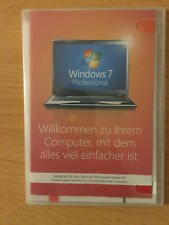 Windows 7 Pro Professional DVD 64bit deutsch FQC-04653 mit Product-Key