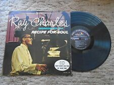 Ray Charles Ingredients In A Recipe For Soul ABC Paramount Records ABCS 465
