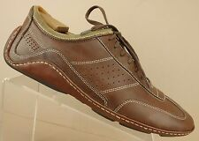 Cole Haan G Series Nike Air Brown Leather Fashion Sneakers Driving Shoe Men 11 M