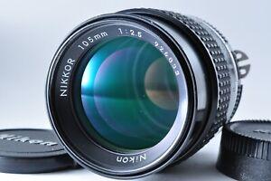 """""""NEAR MINT"""" Nikon NIKKOR Ai-s 105mm F/2.5 Telephoto MF Prime Lens From JAPAN✈️"""