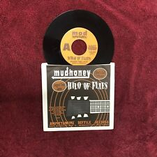 "MUDHONEY & HALO OF FLIES ~ MOD SHOWDOWN 1991 US 7""SINGLE AMPHETAMINE REC. M-"