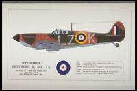 419000 Supermarine Spitfire F Mk Ia A4 Photo Print