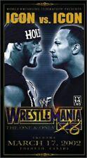 WWF WrestleMania X8 Icon vs Icon (VHS, 2002)