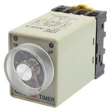 AC 110V 8P 0-60 Relais Temporisateur de Minutes a rangeee reglable de AH3-3 G9G5