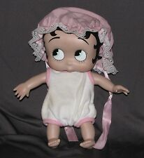 """9"""" Baby Betty Boop - Signed Syd Hap - Porcelain - Posable Head And Limbs"""