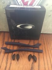 NEW AUTHENTIC Oakley Half Jacket 2.0  Frame  Blue Ear Socks / Nosepad Kit