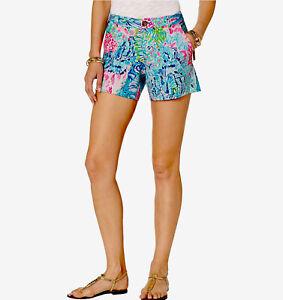 Lilly Pulitzer NWT Callahan Knit Shorts Sink Or Swim $68