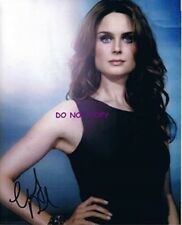 EMILY DESCHANEL - HAND SIGNED WITH COA - BONES PROMO ORIGINAL AUTOGRAPHED 8X10