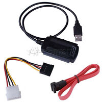 SATA / PATA / IDE to USB 2.0 Adapter Converter Cable for 2.5'' 3.5'' Hard Drive