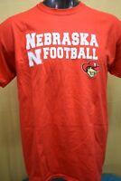 OVB Mens NCAA Nebraska Huskers Football Shirt NWT S, L