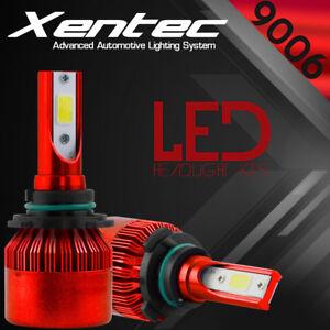 XENTEC 9006 HB4 LED Headlight Bulbs 6500K White 8000LM Light Conversion Kit