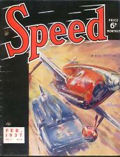 Speed Magazine 2/37 Brooklands Tommy Rose Empire Flying Boats 1½ litre races +