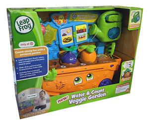 LOT OF 2 - Leap Frog Water & Count Veggie Garden